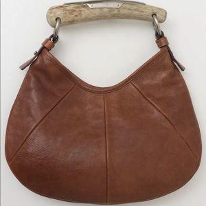 YSL Yves Saint Laurent Small Mombasa Horn Handbag